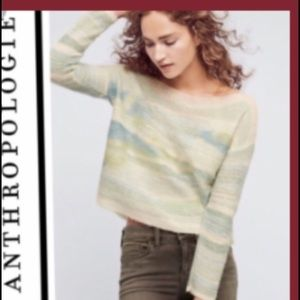 Anthropologie Troubadour wool pullover sweater.